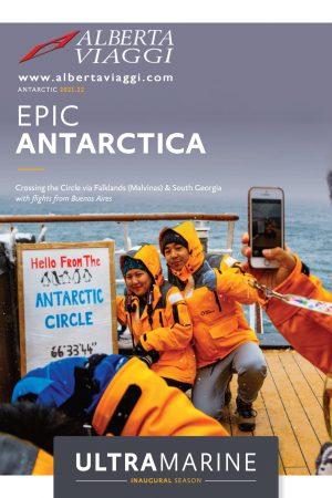 Crossing the Circle via Falklands (Malvinas) Sth Georgia from Buenos Aires 21-01-2021