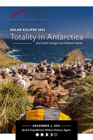Solar Eclipse 2021 -Totality in Antarctica South Georgia - Falkland Islands 25-11-2021